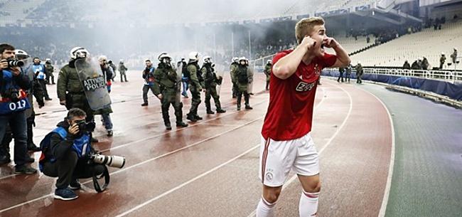 Foto: Ajax moet vrezen: UEFA stelt officieel onderzoek in naar rellen