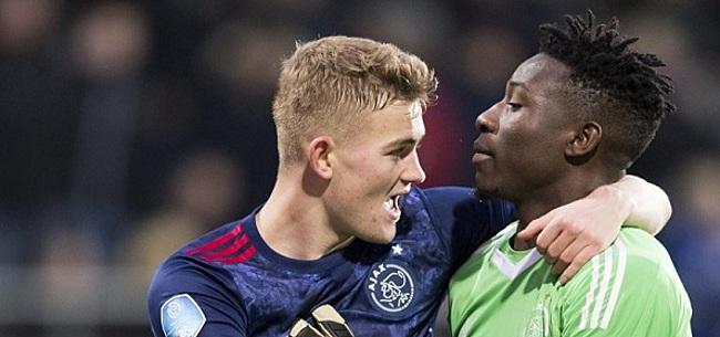 Foto: Ajax-steunpilaar zeer zelfkritisch: 'Ik ben nog niet top'