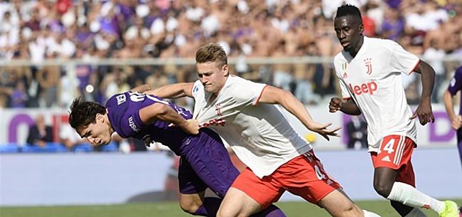 Foto: Juventus-fans gaan wel heel ver met kritiek op De Ligt