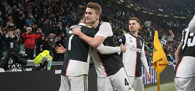 Foto: Juventus-fans unaniem over 'monster' De Ligt