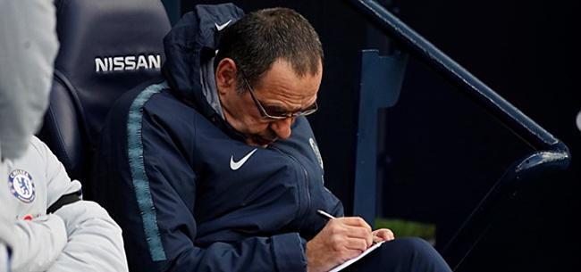Foto: 'Chelsea neemt mogelijk snel afscheid van Maurizio Sarri'