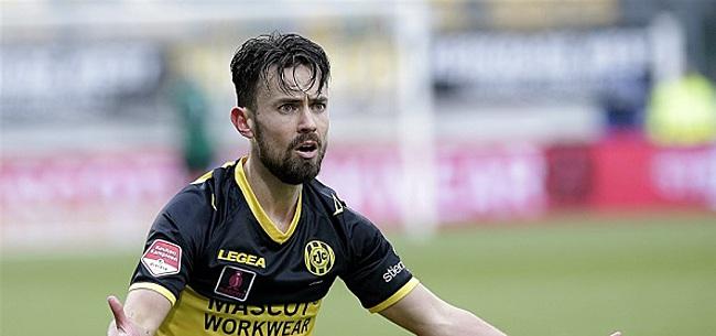 Foto: 'MVV-trainer neemt met schouderduw wraak op Roda-debutant'