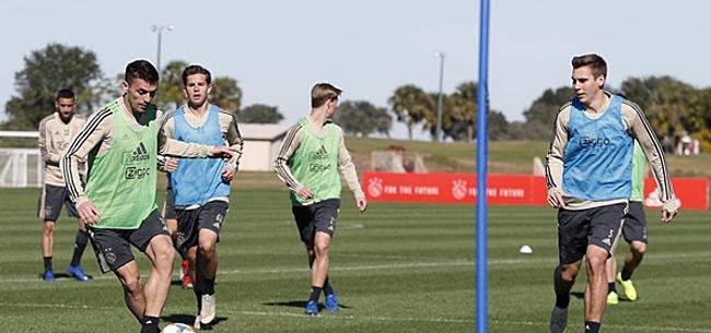 Foto: Ajax jaagt speler weg: 'Het ziet er niet zo goed voor je uit'
