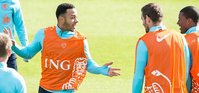 Foto: 'Memphis ging naar United, de rest werkt bij de Albert Heijn'