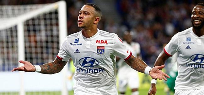 Foto: Lyon geeft toe: United speelt een rol bij Memphis-transfer