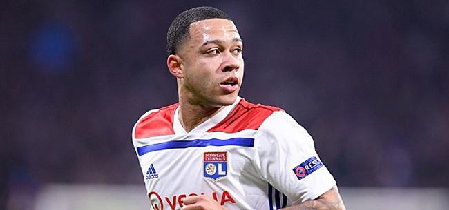Foto: 'Ruzie op training kost Memphis terugkeer in Lyon-basis'