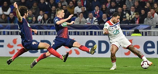 Foto: Memphis helpt Olympique Lyon aan overwinning op Angers