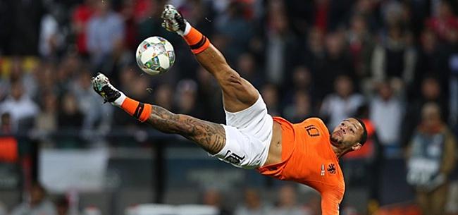 Foto: Memphis laat Sneijder, Robben en Van der Vaart achter zich