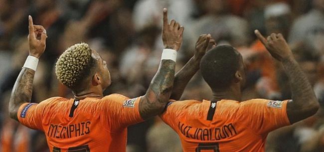 Foto: Oranje krabbelt op en stijgt flink op FIFA-wereldranglijst
