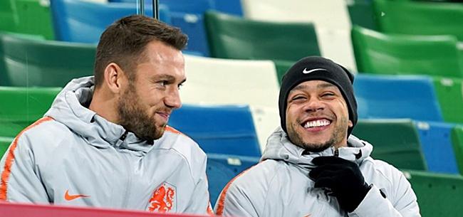 Foto: 'Oranje-opstelling ziet er helemaal anders uit tegen Estland'