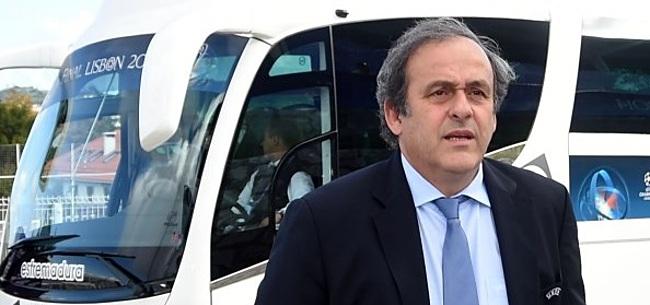 Foto: Platini maakt terugkeer in voetballerij onmogelijk door principezaak