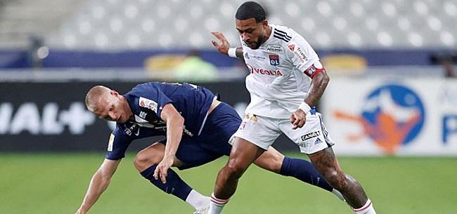 Foto: Memphis verliest finale tegen PSG na strafschoppen