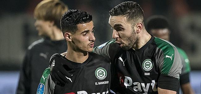 Foto: 'Zieke' Mimoun Mahi op weg naar FC Groningen-uitgang?