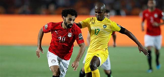 Foto: Egypte blijkt bestand tegen enorme druk en wint openingsduel Afrika Cup