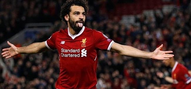 Foto: Salah niet onder de indruk van Real Madrid-geruchten