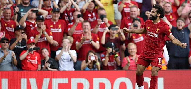 Foto: Salah leidt Liverpool met twee goals naar ruime overwinning op Arsenal