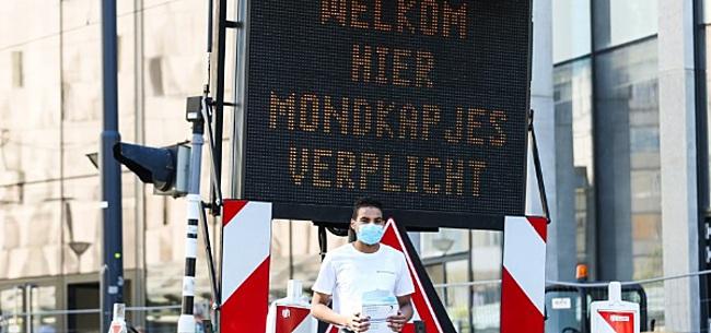 Foto: 'Quarantaineplicht kan puinhoop maken van profvoetbal'