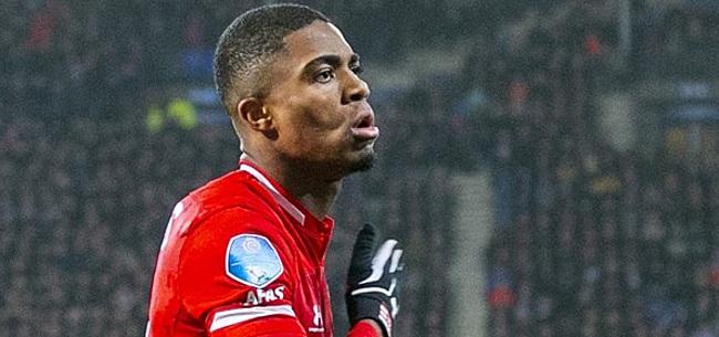 Foto: Eredivisie-topscorer Boadu blijft kritisch: 'Had op achttien goals kunnen staan'