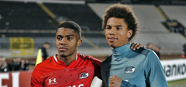 Foto: AZ verheugd met selectie Stengs en Boadu: