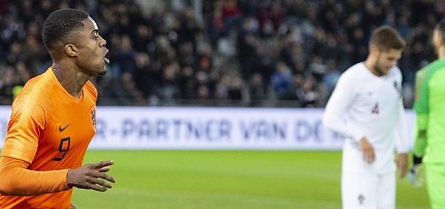 Foto: Jong Oranje dankt overwinning op Portugal aan AZ-invloed