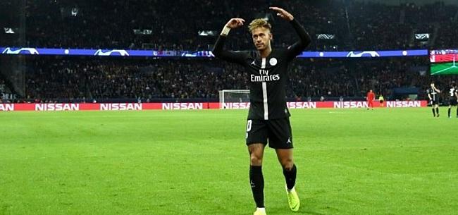 Foto: Woedende Neymar maakt 'respectloze' Kuipers met de grond gelijk