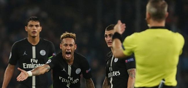 Foto: Na Neymar haalt ook Thiago Silva uit naar Kuipers: 'Altijd hetzelfde met hem'