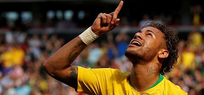 Foto: VIDEO: Onderonsje tussen Modric en Neymar: 'We wachten op je'