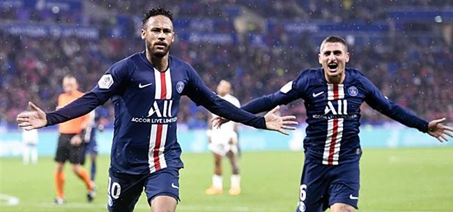 Foto: Paris Saint-Germain verslaat Memphis en co door goal Neymar