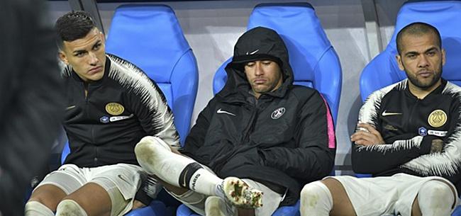 Foto: 'Neymar maakt zichzelf onmogelijk en gaat in de clinch met twee teamgenoten'