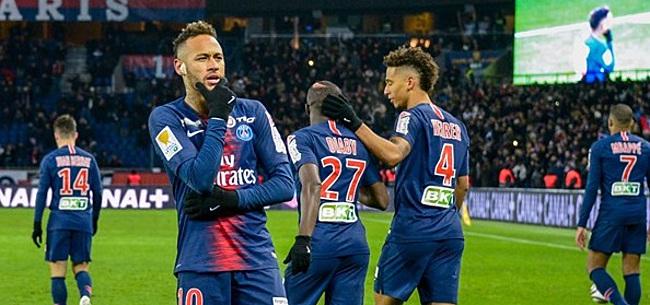 Foto: PSG hoopvol over Neymar: