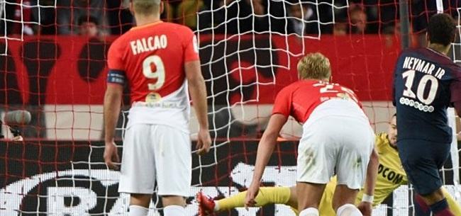 Foto: PSG neemt in Monaco voorschot op Franse titel