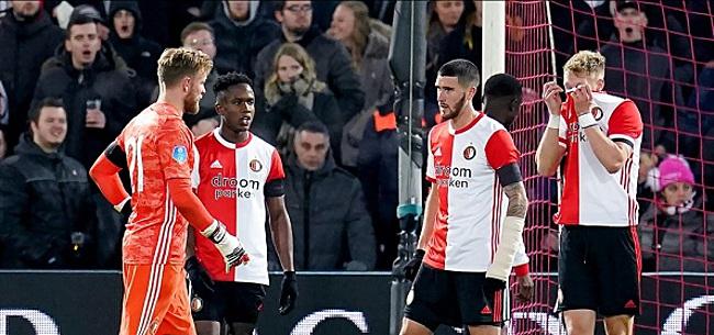 Foto: Opnieuw flinke blessure-dreun voor geplaagd Feyenoord
