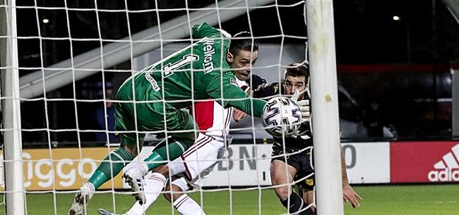 Foto: NAC wint bij Jong Ajax: Van der Gaag junior maakt de winnende