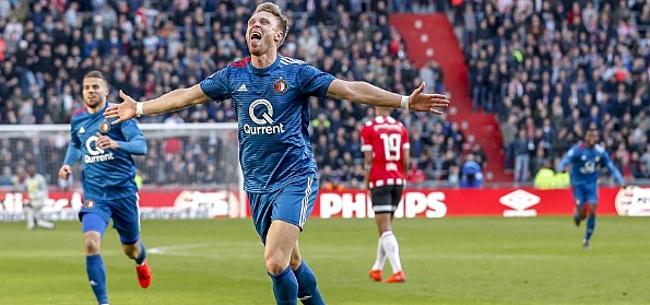 Foto: Eindelijk weer goed nieuws voor Jörgensen bij Feyenoord
