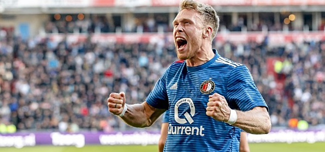 Foto: 'Van Bronckhorst ziet Feyenoord-koppeltje niet meer zitten'