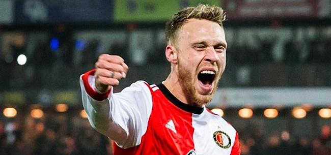 Foto: Jorgensen verwacht nog belangrijker te worden voor Feyenoord