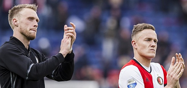 Foto: Feyenoord-spits geniet: