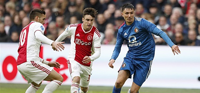 Foto: 'Ajax en Feyenoord strijden om miljoenenaankoop'