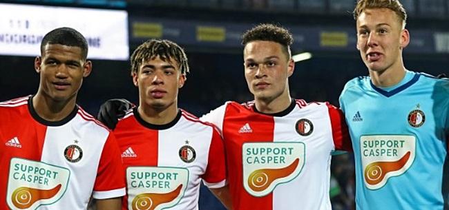 Foto: Feyenoord stalt talentvolle aanvaller bij 'satellietclub' FC Dordrecht
