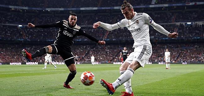 Foto: Mazraoui gelooft in Ajax: 'Dan hebben we een kans'