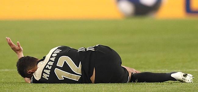 Foto: Mazraoui week voor Afrika Cup twijfelgeval bij Marokko