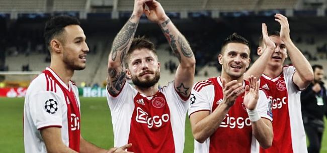 Foto: Ontlading bij Ajax na Feyenoord - PSV: 'Klaas en Dusan waren het luidruchtigst'