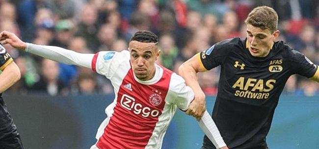Foto: Ajax-fans hekelen AZ'er: