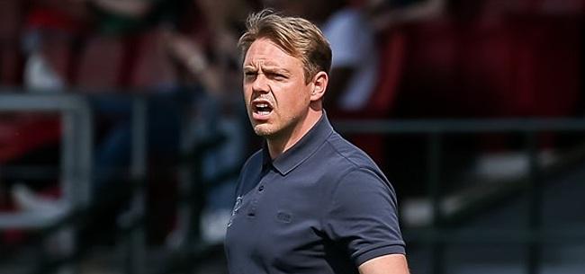 Foto: Almere-trainer zorgt voor verbazing: