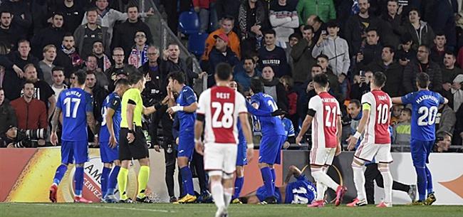 Foto: Ajax wacht mogelijk zware sanctie van UEFA
