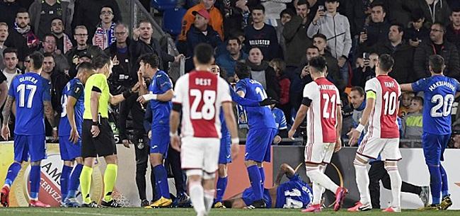 Foto: Ajax heeft 'mazzel' met kaartenkoning: 'Dat is niet bewust'