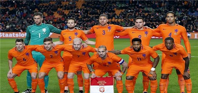 Foto: Oranje-blessures tellen niet als excuus: