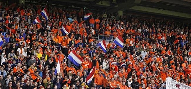 Foto: KNVB voert bij Oranje - Estland diverse tests uit in Johan Cruijff Arena