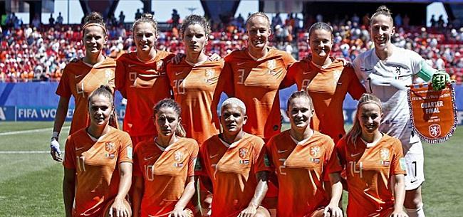 Foto: Woede en teleurstelling om opstelling Oranje Leeuwinnen in WK-finale:
