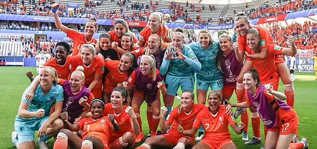 Foto: Oranje Leeuwinnen tonen bravoure: